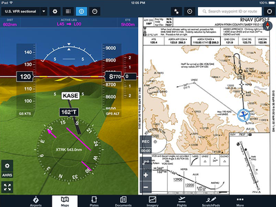 ForeFlight Synthetic Vision