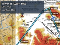 ForeFlight Terrain Profile