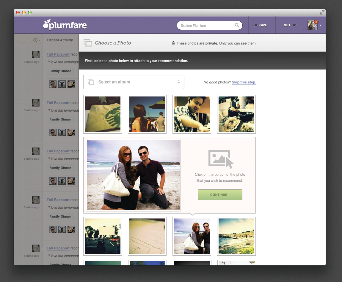 Photo browse