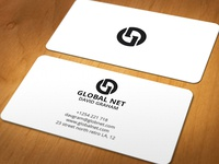 Globel Net Biz card