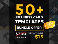 50+ Business Card Mega Bundle