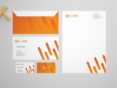 Branding / Stationery Mock-Up Template simple clean creative download mockup mock-up stationery branding