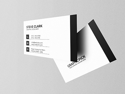 Modern Minimal Business Card modern minimalist minimal creative cheap clean download businesscard card business