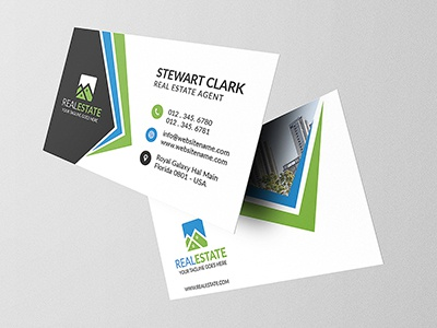 Real Estate Business Card 1 sale creative market homes construction building loan rent business card real estate