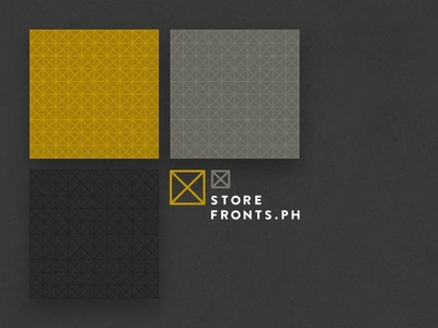 Storefronts.ph Branding identity poster layout philippines branding patterns storefrontsph