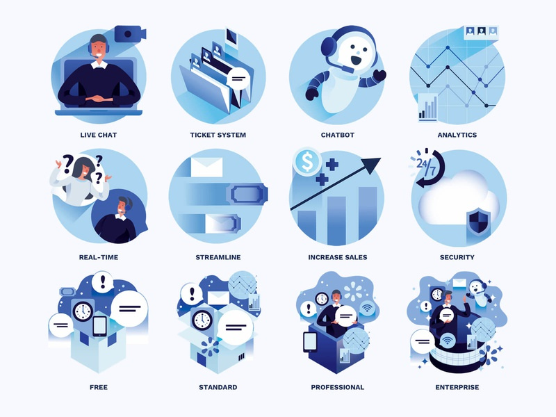 TalkM Illustrations flat icon design flat icon ui design illustration philippines krvin minimalist ui design layout poster