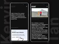 Krvin.com Mobile Responsive Website
