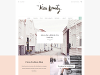 Miss Beauty - Feminine Blog Wordpress Theme