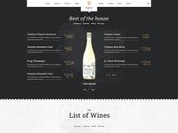 Wine Menu Winery Restaurant Woocommerce Wordpress Theme