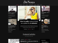 DeNous - Fashion Magazine Wordpress Theme