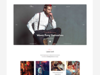Olive - Portfolio Wordpress Theme