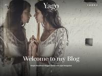 Yago - Simple Cleam Ajax WordPress Theme