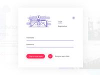 Login Registration Form Popup Modal