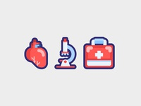 Health Care Medical Icons