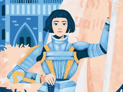 Joan Of Arc limited edition art print