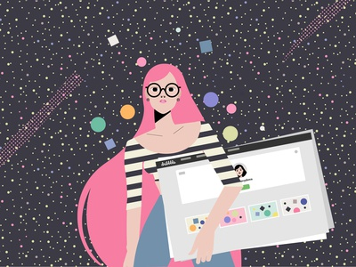 Interview to Dribbble Blog