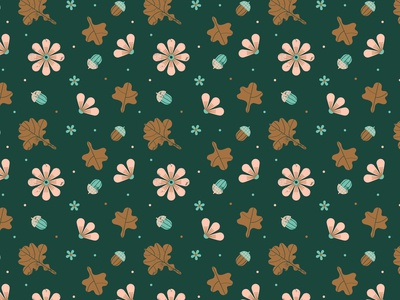 Forest treasures pattern