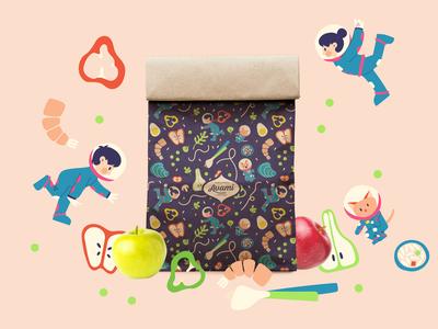 Avami Lunch Bag Branding