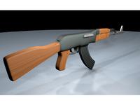 Ak-47 Wood Texture