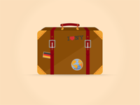 Flat Suitcase