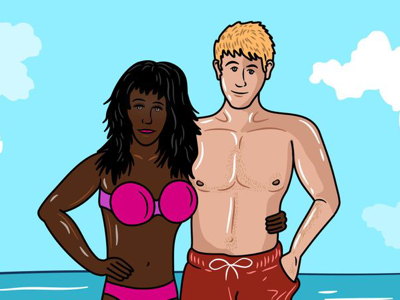 Beach lovers -Traveller type