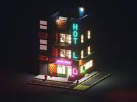 Voxel City 004