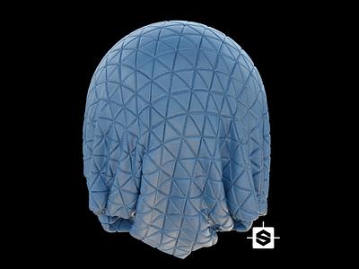 Vinyl Padded Texture substance designer texture 3d 3dmodeling