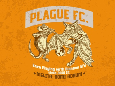 Plague FC. Tee Design