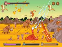 Stone Age War Base Defense Game