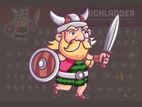 Highlander Game Sprite