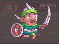Saracen Game Sprite
