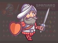 Spaniard Game Sprite