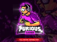 Furious Gamer Esport Logo