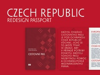 Redesign Passport of the Czech Republic No.1