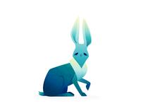 sad rabbit