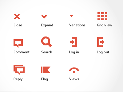 Tiny Icons for Retina retina icons pictogram pixelperfect gui icon