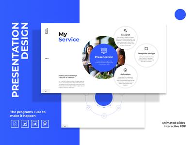 Presentation design services booking google slides powerpoint figma ui graphic available available for hire presentation design presentation
