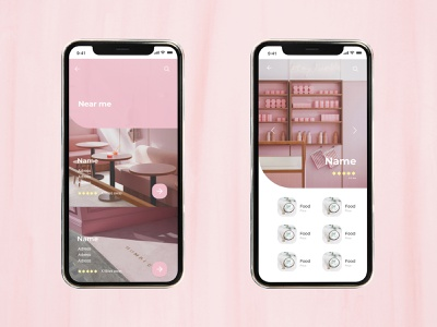 Glace UI research art design graphic minimal application phone app branding ui  ux uidesign