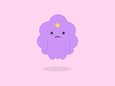 Lumpy Space Princess illustration cute adventure time lumpy space princess