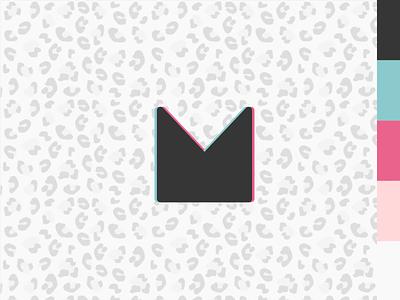 New Personal Logo & Rebrand portfolio personal anaglyph animal print stereoscoping rebrand