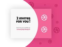 2x Dribble Invites
