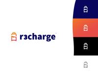 #Logo design R3charge