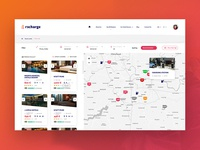Result map page Webdesign