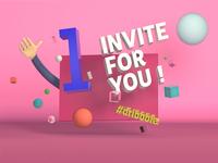 #1 Invite for you !!