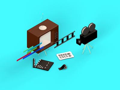 Mini scene - Motion 3d