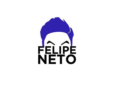 Felipe Neto branding logo youtube felipe neto