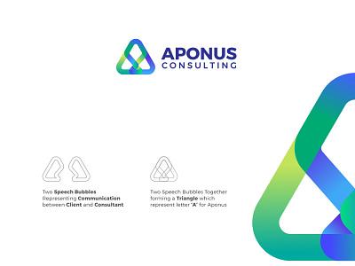 Aponus Consulting Logo logo design logo