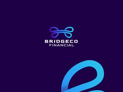 BridgeCo Financial Logo Design design logo