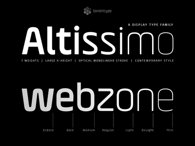 DribbleAltissimo - A display type family type design font typeface display typeface