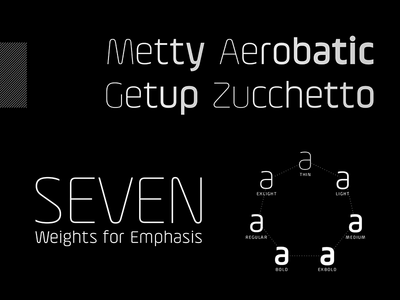 Altissimo - A display type family type design font typeface display typeface